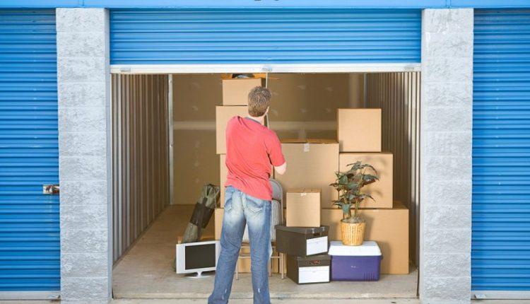 use of a self-storage unit