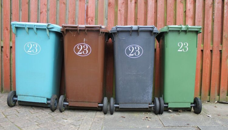 Different waste disposal