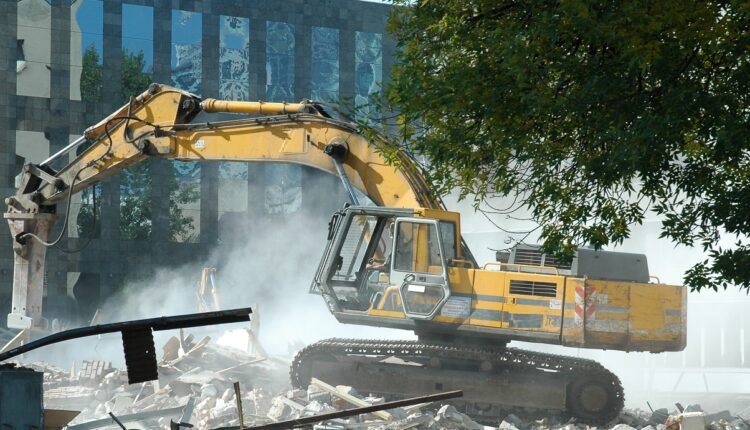 Contract Plant Hire For Groundworks